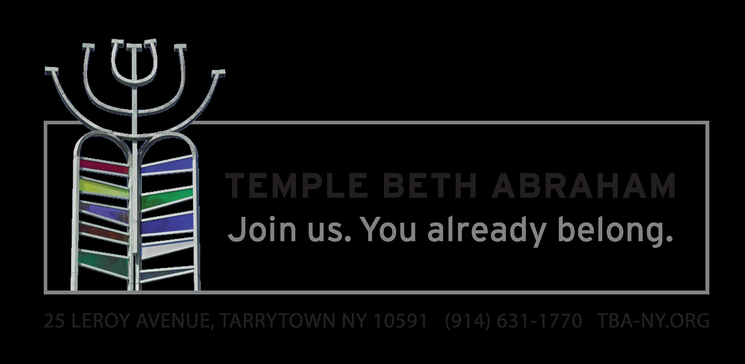 Temple Beth Abraham logo